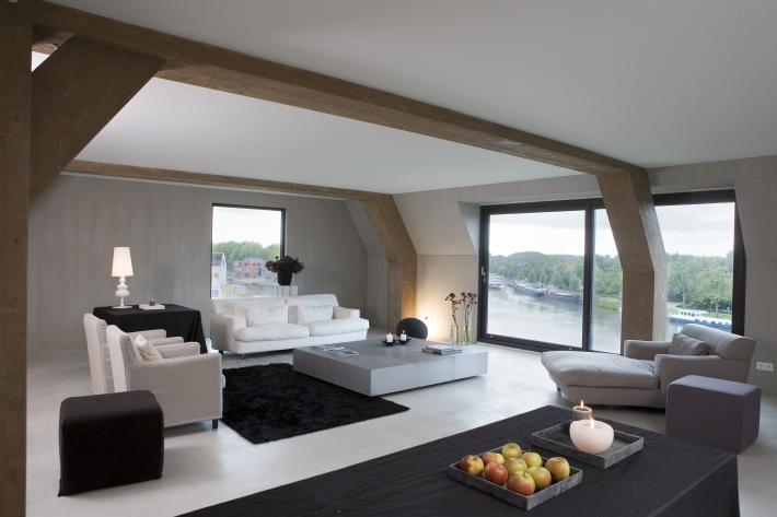 Jaco d de visser architecten werken huis de wiers - Interieur van een huis ...